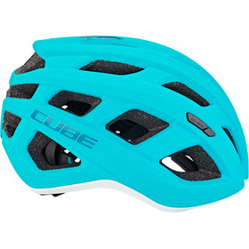 Cube Roadrace Helm mint'n'white